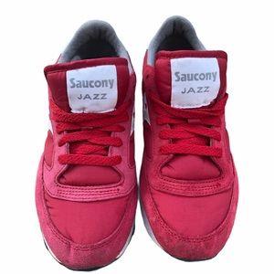 Saucony Jazz Originals Retro Red Size 7.5
